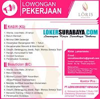 Loker Surabaya di PT. Loris Enverest Kencana Januari 2020