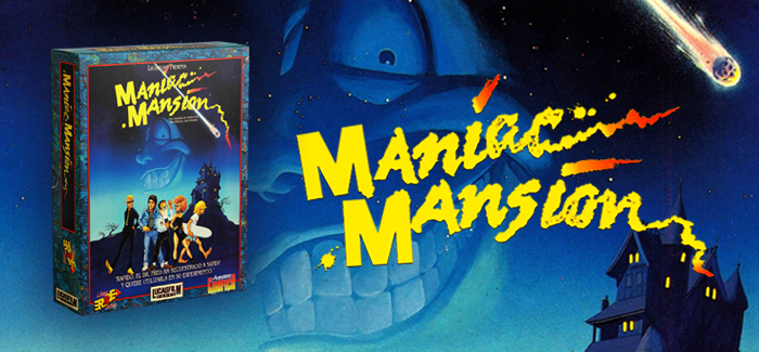 Maniac Mansion IBM PC ERBE 1989