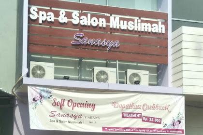Merawat Diri di Spa dan Salon Muslimah Sanasya Tembalang Semarang