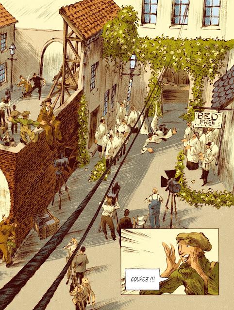 Chaplin tome 2 prince d'Hollywood aux éditions Rue de Sèvres page 15