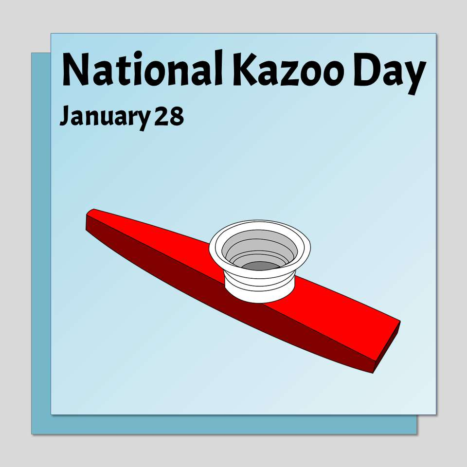 National Kazoo Day Wishes Beautiful Image