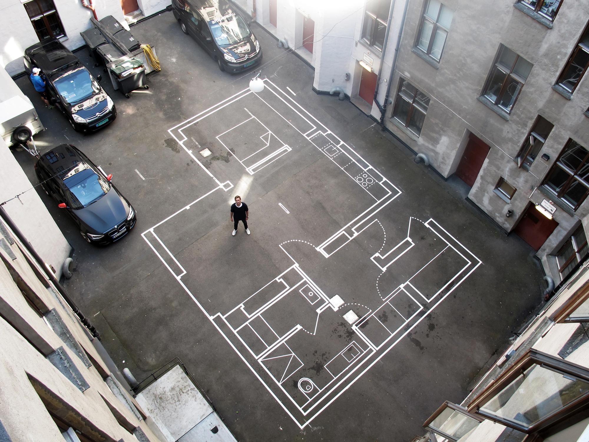 Cómo dibujar el plano a escala de una habitación_4