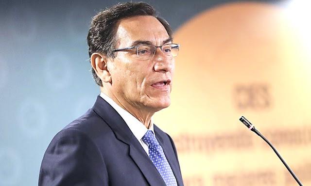 Presidente Vizcarra es uno de los cuatro presidentes de Latinoamérica con aprobación superior a 50 %