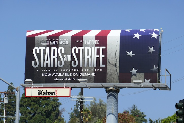 Stars and Strife movie billboard