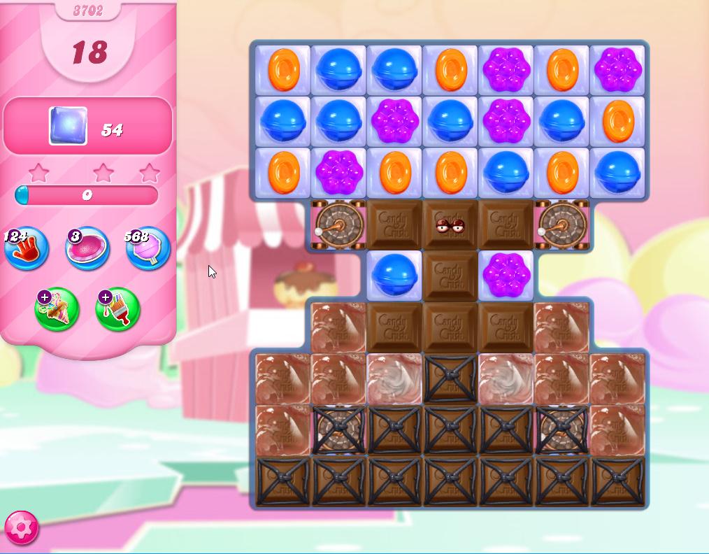 Candy Crush Saga level 3702