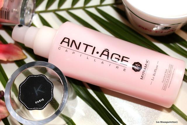 Bi-phase capillaire anti-âge - Myriam K - Blog beauté Les Mousquetettes©