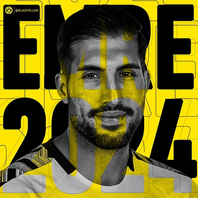OFFICIAL: Dortmund activate clause to sign Emre Can on permanent deal until 2024