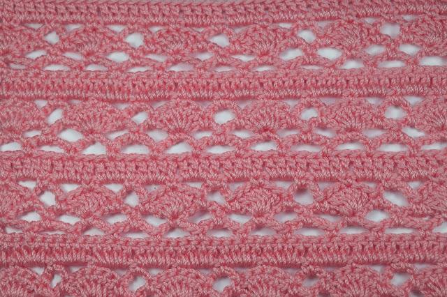 6 - Crochet Imagen Puntada combinada para jerseys a crochet y ganchillo por Majovel Crochet