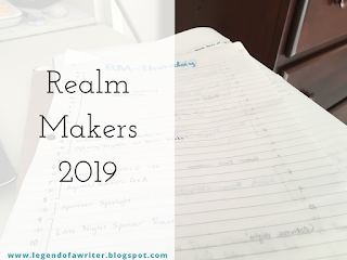 Realm Makers 2019 // the play-by-play no one asked for