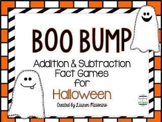 https://www.teacherspayteachers.com/Product/Boo-Bump-Halloween-Addition-and-Subtraction-Fact-Games-326628