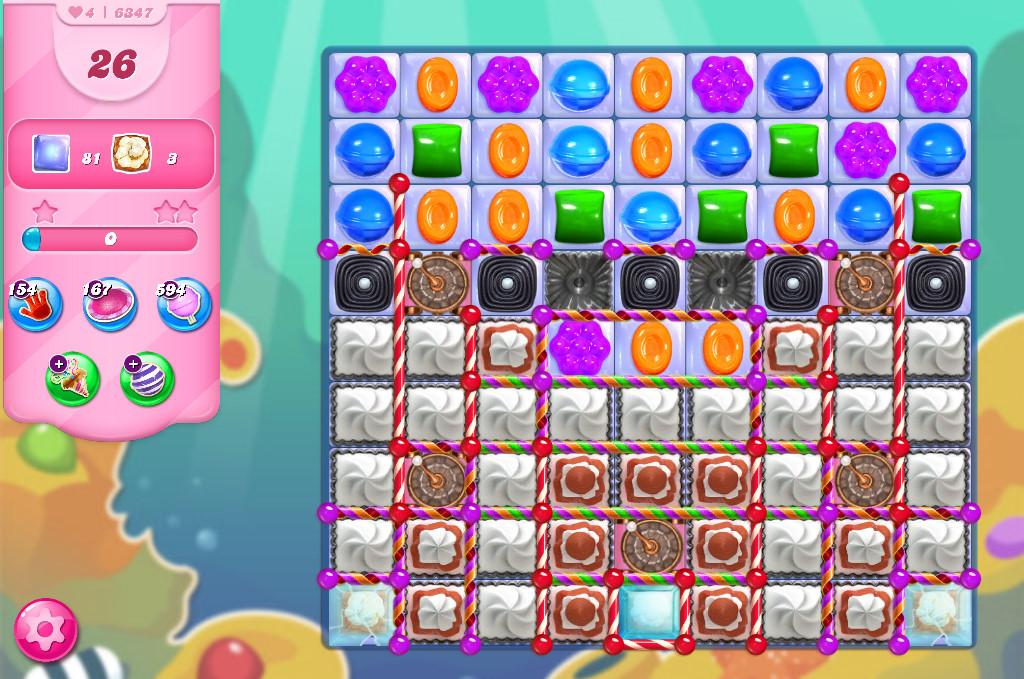 Candy Crush Saga level 6347