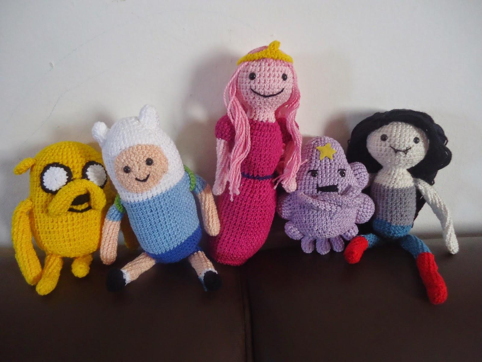 Crochet Finn and Jake from Adventure Time. @Alison Hobbs Hobbs ...   1200x1600