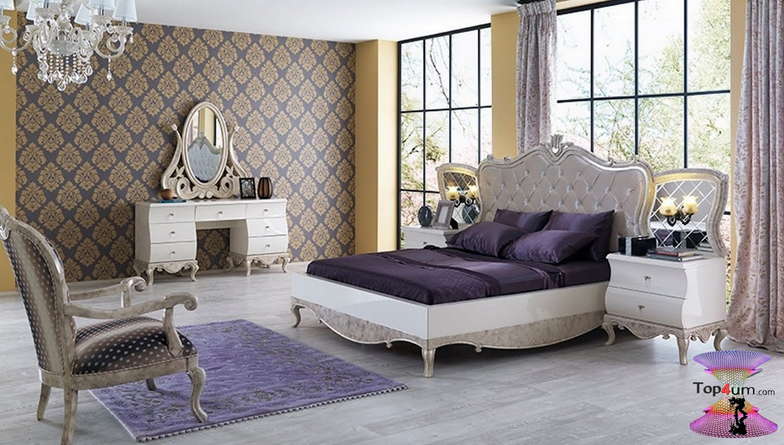 Top 100 Desings For The Most Beautiful Bedrooms Decoration