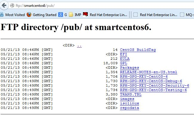 Unix/Linux: How to connect vsftpd via browser or Windows Explorer on