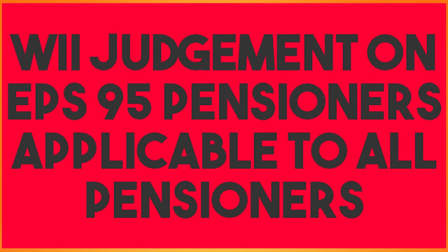 EPS 95 PENSIONERS 2020 | Court Judgement| Telugu