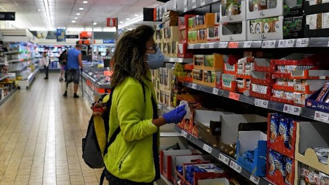Υποχρεωτική με ΚΥΑ η χρήση μάσκας στα Super Market από εργαζόμενους και καταναλωτές