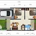 contoh Sketsa denah Rumah Minimalis 1 lantai ukuran 6x12 Terbaru