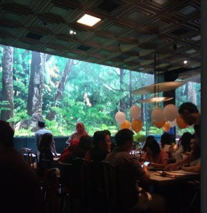 Gormeteria Cafe,  Café Seru Nuansa Alami