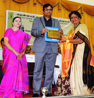 Kalam Award for Quality of Life Improvement 2016-17. Citation Mrs.N.Radha, the Founder/Director  of LEAD.
