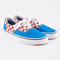 Vans Two-tone Era (Blue/ Red)