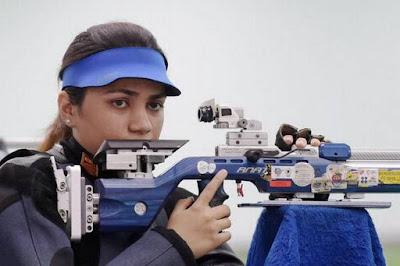 Apurvi Chandela Attained World Number One Spot in 10m Air Rifle