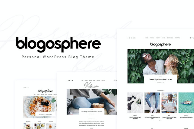 Download Gratis Blogosphere - Multipurpose Blogging Theme