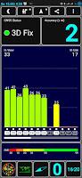 Screenshot der App GPS Test