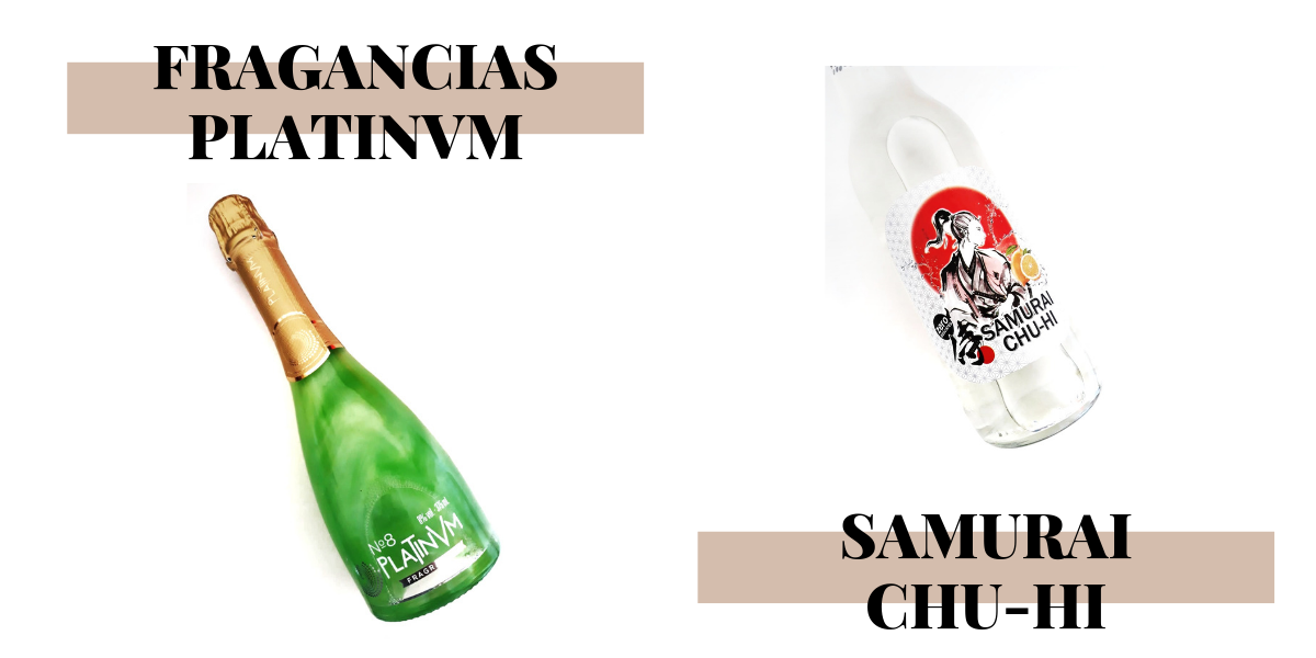 FRAGANCIAS PLATINVM & SAMURAI CHU-HI