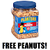 Free Planters Cocktail Peanuts - Twitter Required. AVAILABLE FOR EVERYBODY.  First 1,000 Can Get it Mailed Nationwide. After that available for free 2 hour delivery in Manhattan, Los Angeles, Chicago and Miami