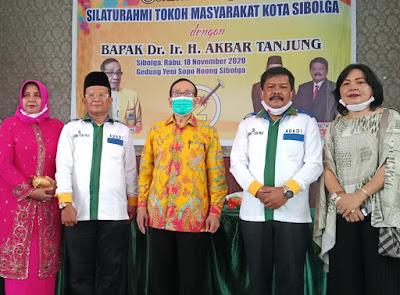DR.Ir.H.Akbar Tanjung Berikan Dukungan Penuh Kepada Pasangan ABADI Untuk Memenangkan Pilkada Sibolga