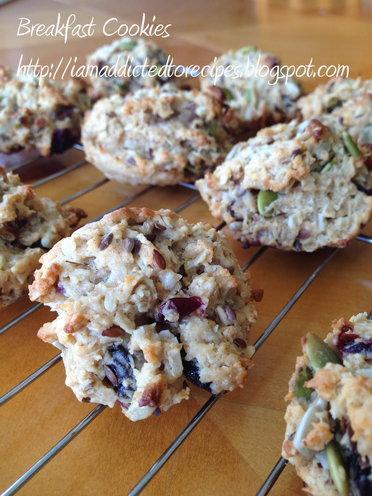 Breakfast Cookies | Addicted to Recipes