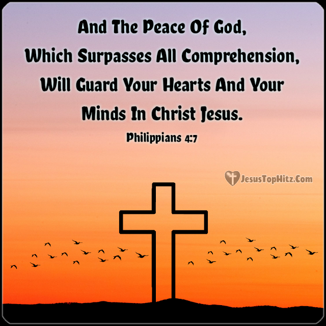And The Peace Of God... Inspirational Bible Verse...