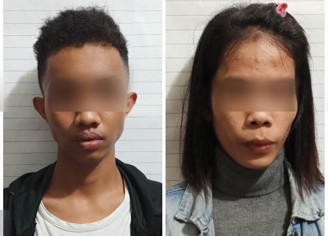 Dua Pelaku TP Narkotika Jenis Pil Ekstasi Berhasil Diringkus Tim Opsnal Reskrim Polsek Mandau