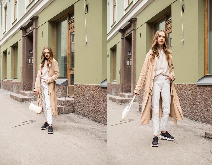 Klassinen ja ajaton trenssitakki // Classic and timeless trench coat