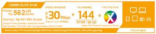 PROMO FIRST MEDIA PAKET COMBO ELITE X1 4K ULTRA HD