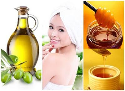 Trị tàn nhang bằng dầu oliu và mật ong