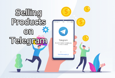 selling products on telegram channels
