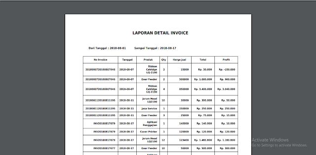 APLIKASI INVOICE (AP-ICE) DENGAN PHP, MYSQL DAN BOOTSTRAP 3