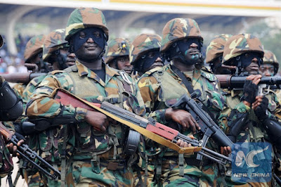 500 dismissed army recruits in Ghana threaten to join ISIS and Boko Haram if they are not recalled