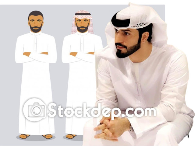 Arab men stock free