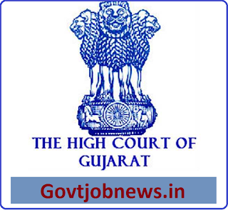Legal Assistants 20 Vacancies in the High Court of Gujarat