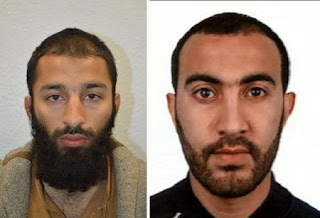 Polícia britânica identifica dois muçulmanos autores de ataque terrorista em Londres, diz que um deles era conhecido