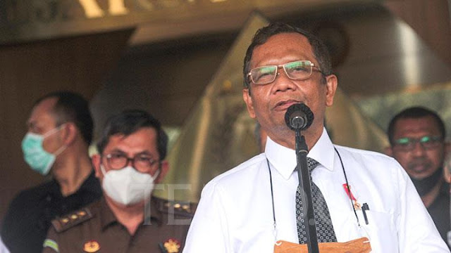 Mahfud MD Ungkap Alasan Istilah KKB Tak Perlu Tambahkan Papua.lelemuku.com.jpg
