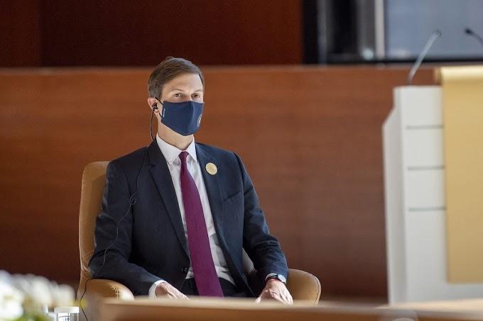 """Kushner rompe su silencio: """"Mis esfuerzos por la paz de Israel provocaron """"terremoto geopolítico""""."""
