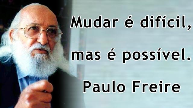 Frase De Paulo Freire Mensagens E Frases