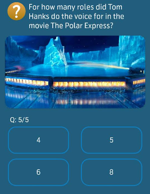 For how many roles did Tom Hanks do the voice for in the movie The Polar Express?