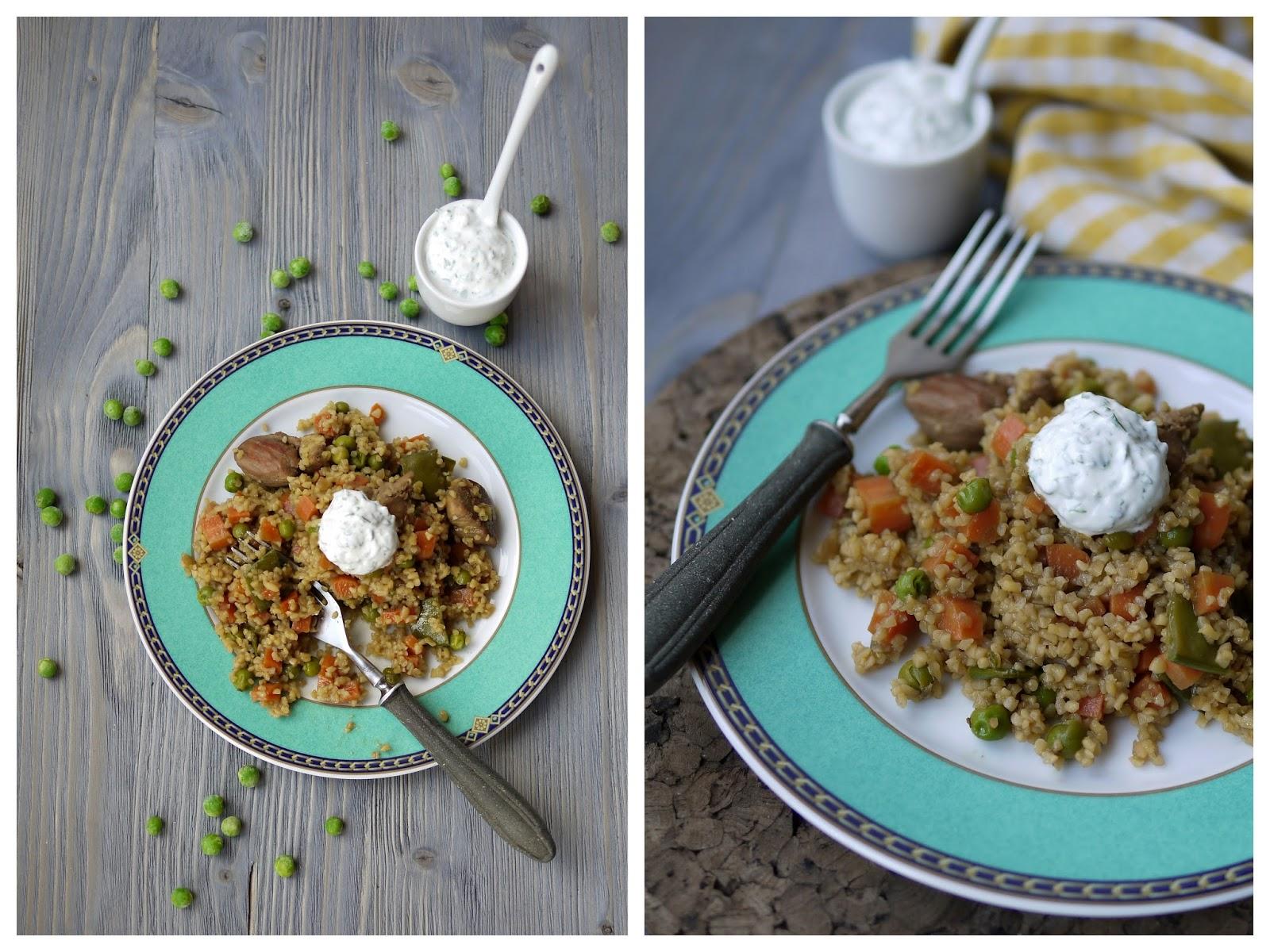 Bulgur-Hähnchen-Pfanne | Rezept | Kochen | Essen