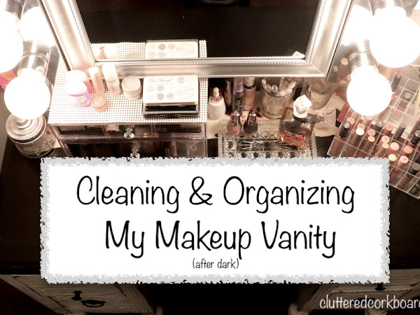 Cleaning and Organizing my Vintage Makeup Vanity