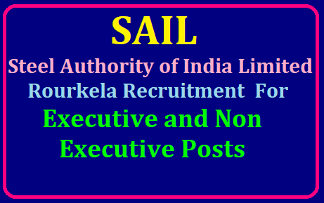 Steel Authority of India Limited (SAIL) Rourkela Recruitment 2019 For Executive and Non Executive Posts /2019/07/steel-authority-of-india-limited-sail-rourkela-recruitment-2019-for-executive-and-non-executive-posts-sail.co.in.html