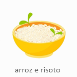 arroz e risoto